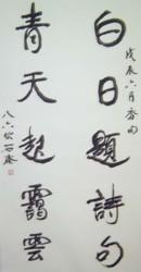 书坛百卉沁芬芳义展作品206