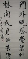 书坛百卉沁芬芳义展作品219